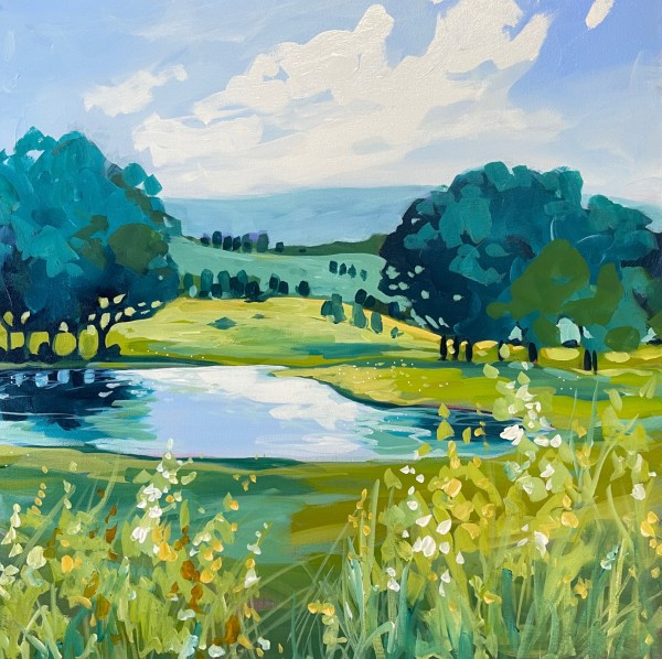Back Road Dam by Clair Bremner