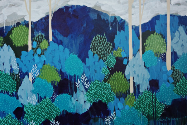 Blue Woods by Clair Bremner