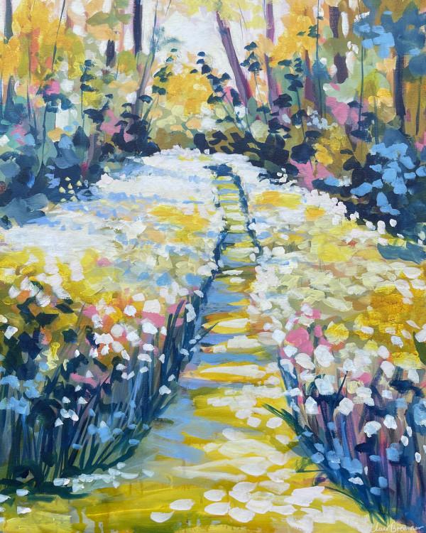 Dappled Light by Clair Bremner