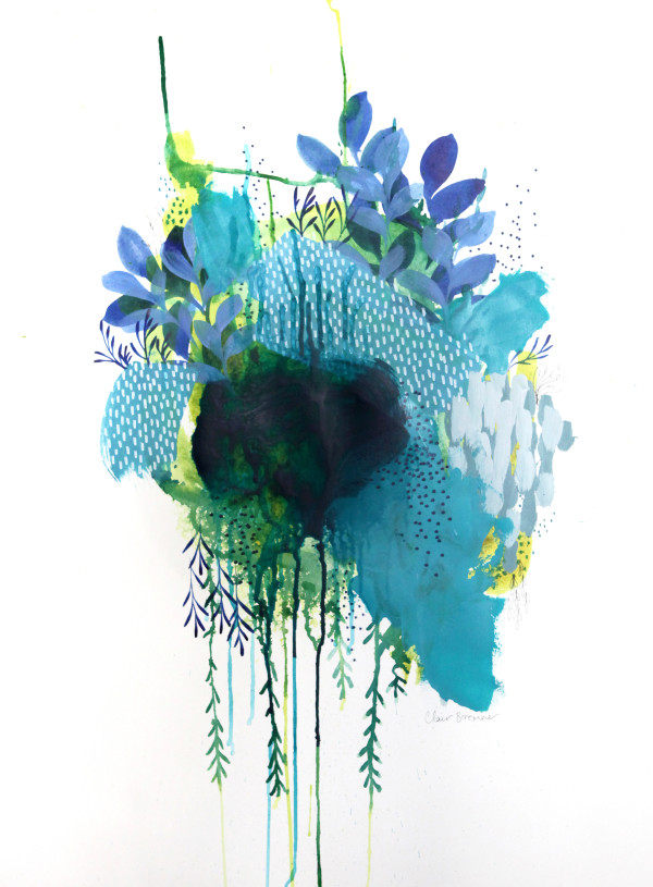 Floral Study 3 by Clair Bremner