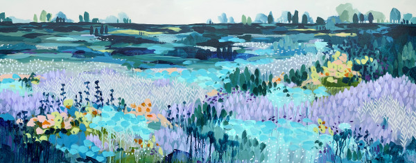 Flowering Marshland by Clair Bremner