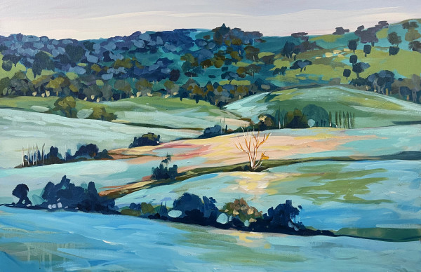 Frosty Morning by Clair Bremner