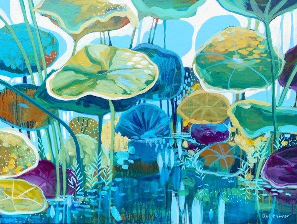 Lotus Lake by Clair Bremner
