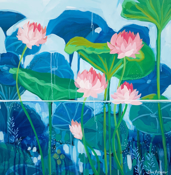 Nymphaea by Clair Bremner