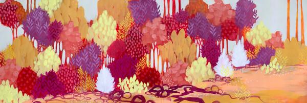 Scarlet Sunset by Clair Bremner