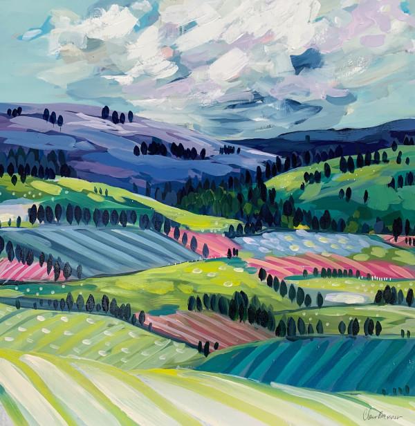 Tulip Fields by Clair Bremner