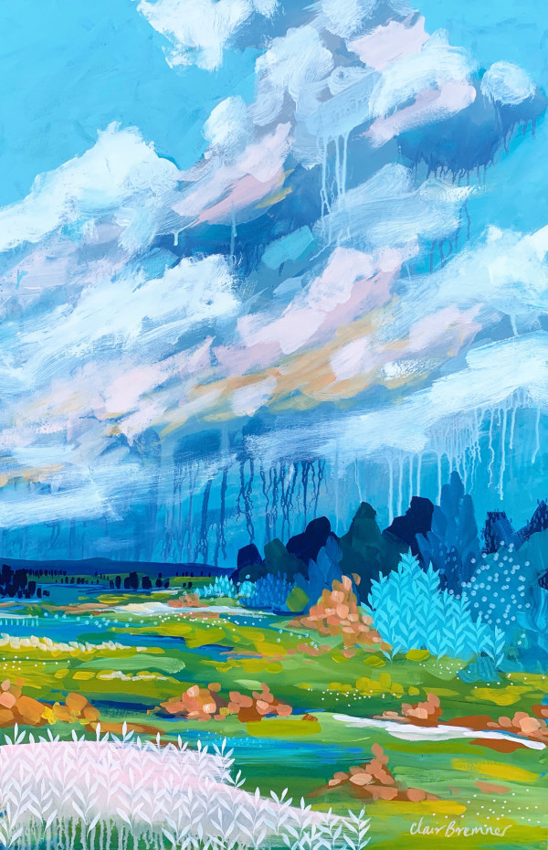 A Sudden Downpour by Clair Bremner