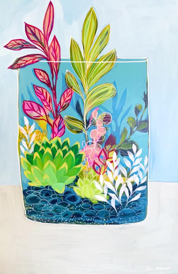 Splash of Pink by Clair Bremner
