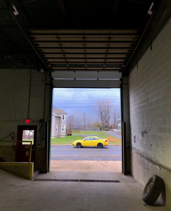 Yellow car garage #3 of 12 by Eve K. Tremblay