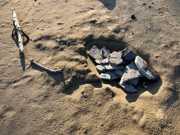 Nesting Rocks #1 of 25 by Eve K. Tremblay