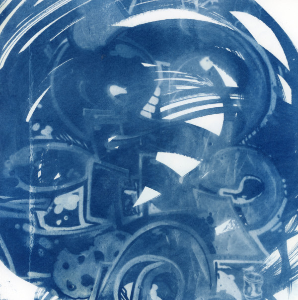 Cyanotype 20191105002 by Karen Johanson