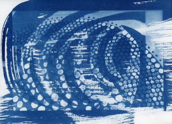 Cyanotype 20200125001 by Karen Johanson
