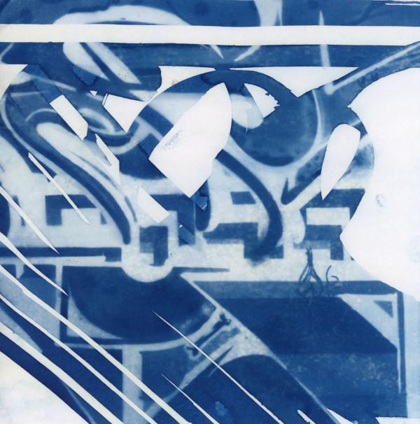 Cyanotype 20200226001 by Karen Johanson