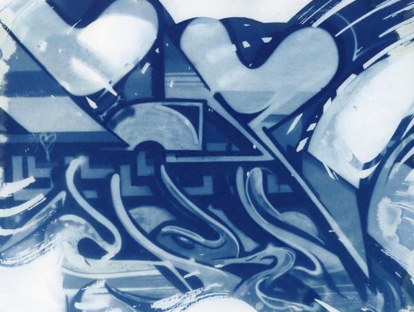 Cyanotype 20200302002 by Karen Johanson
