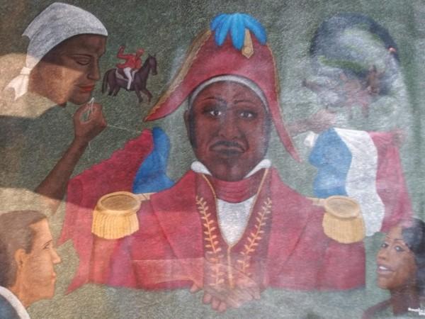 HAITIAN GENERAL (UNFRAMED) by AMERLIN  DELINOIS