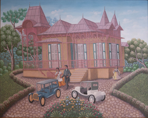 GINGERBEAD HOUSE* by AMERLIN  DELINOIS