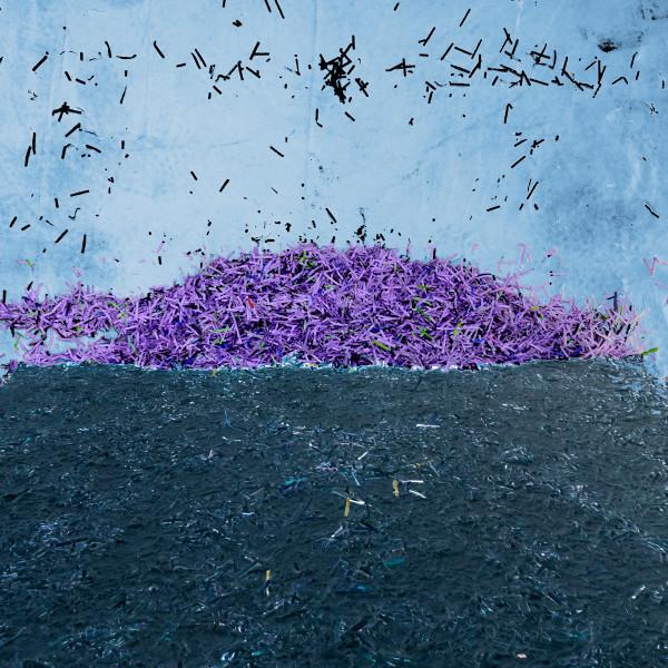 紫色纸岛由埃里斯奥利弗
