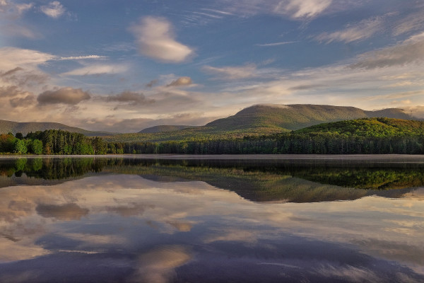 Morning Cooper Lake by Kelly Sinclair