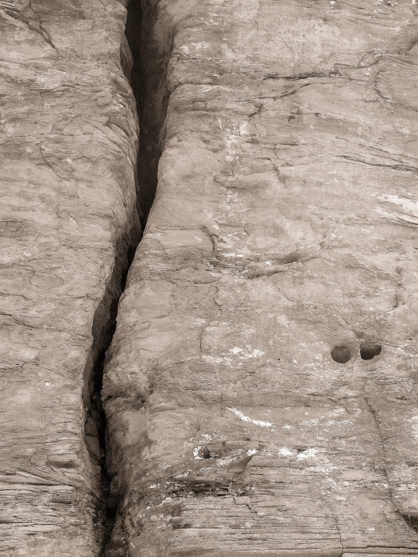 Rock Wall, Sloan Gorge by Kelly Sinclair