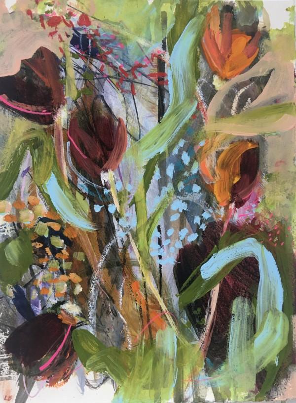 April Bouquet by Lesley Birch