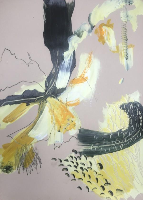 Arabesque ii by Lesley Birch