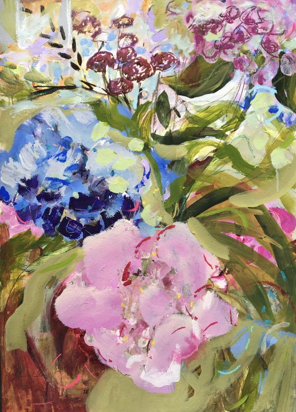 Life in Pink & Blue by Lesley Birch