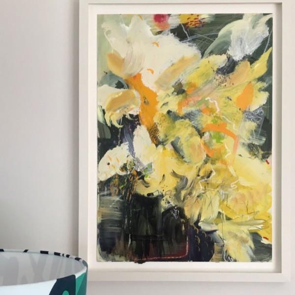 Lyrical Yellows by Lesley Birch
