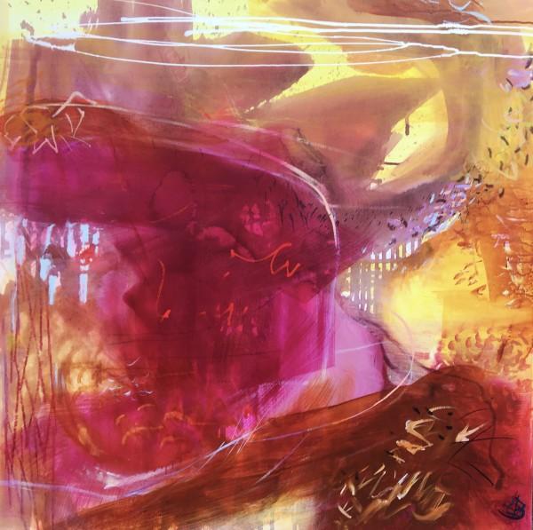 Magenta & Yellow by Lesley Birch