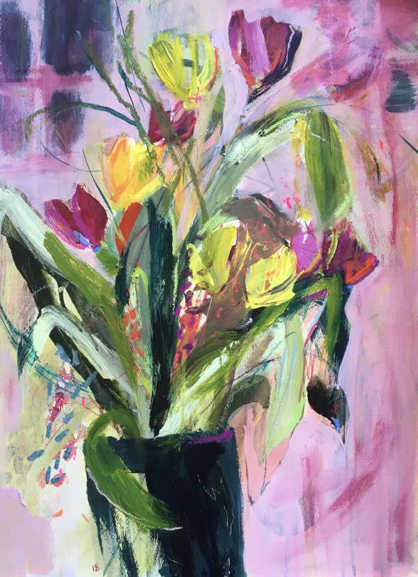 Posing Flowers by Lesley Birch
