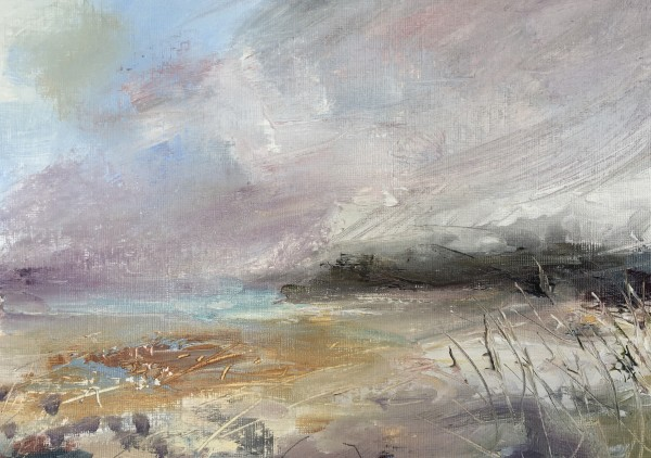 Seagrass, Bright Day by Lesley Birch