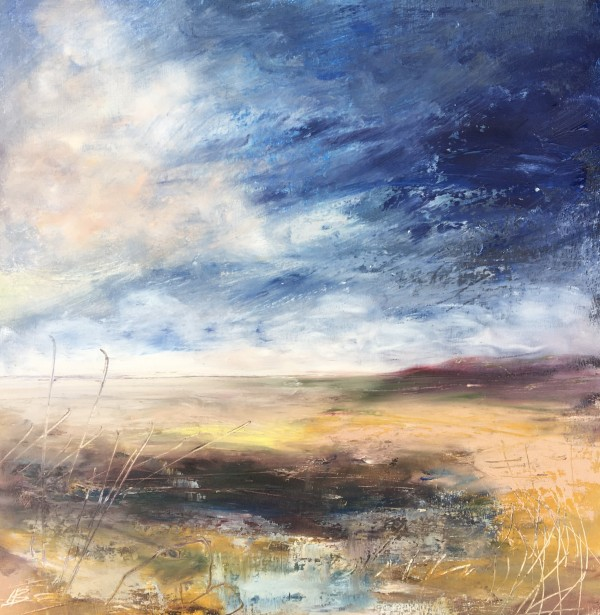 Spring Blue Shore by Lesley Birch