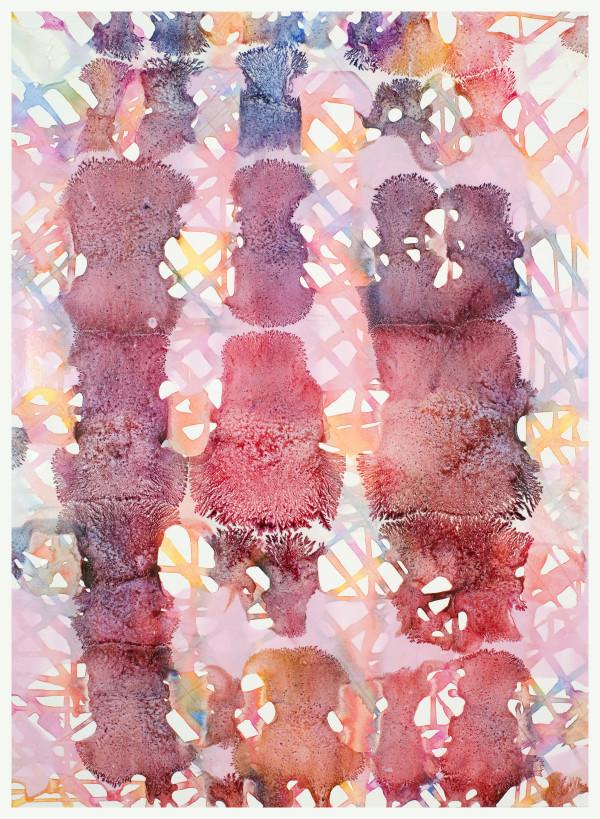 Pink, Orange, Red by Leon Phillips