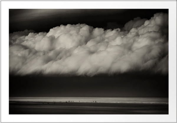 Summer Storm, Camber sands  ( 16 x 11.5 in. Number 6 from an edition of 10. ) by caroline fraser