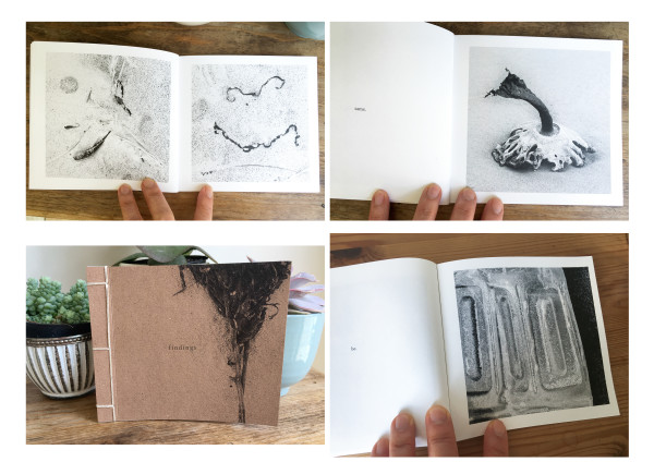 Findings (artist book) by caroline fraser