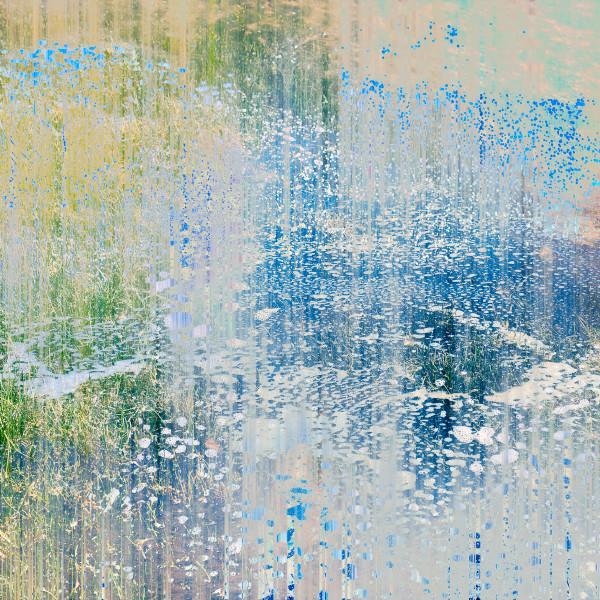 Salt and Sky 1 ( limited edition framed 30x30cm print) 1 of 10 by caroline fraser