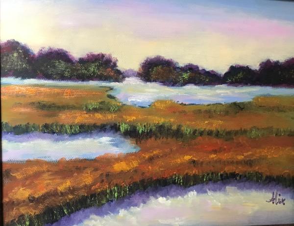 亚历山德拉·卡辛的《秋天沼泽》