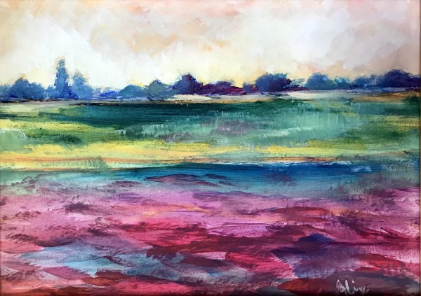 亚历山德拉·卡辛的《彩色波浪》