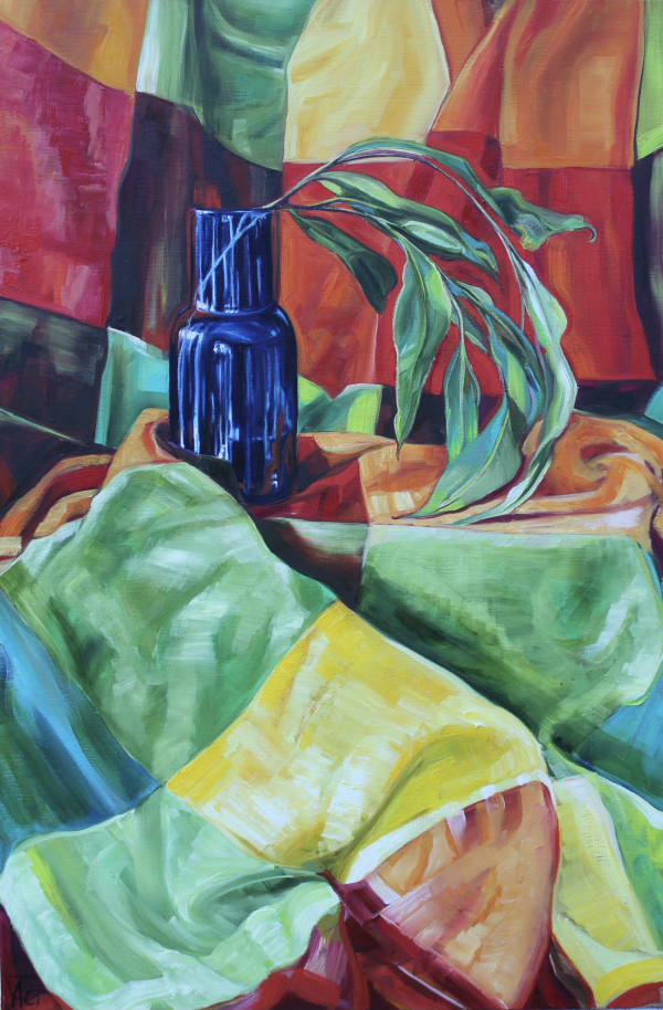 Gum Leaves and the Harlequin Blanket by Alicia Cornwell