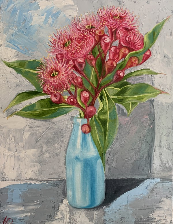 Study - Gum Blossom and the Blue Bottle by Alicia Cornwell