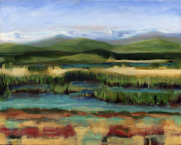 Valley Wetlands by Lois Donaghey