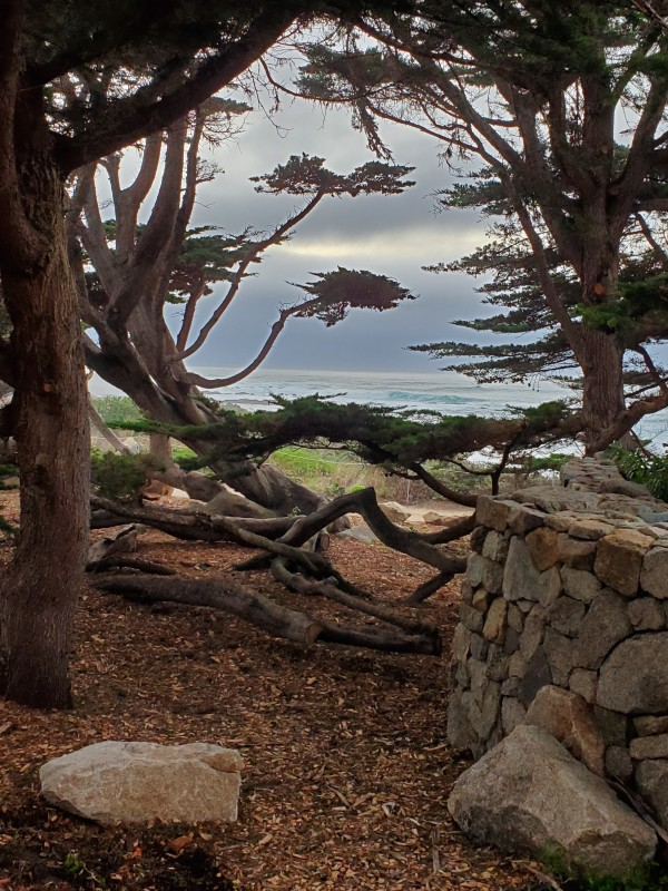 3D Carmel by the Sea Sunset by Lori Thompson