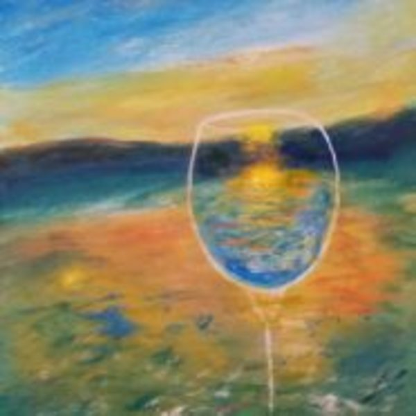 A Toast to Sunset by Lori Thompson