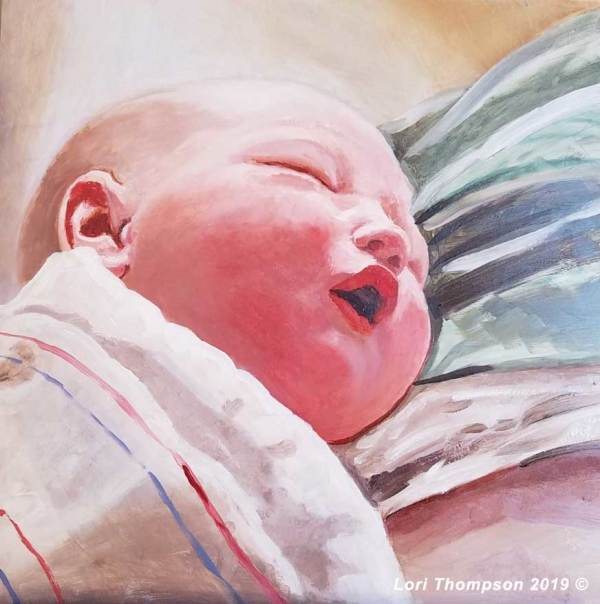 Baby Newborn by Lori Thompson