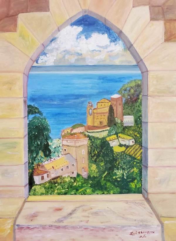 Bella Vista Italy by Lori Thompson
