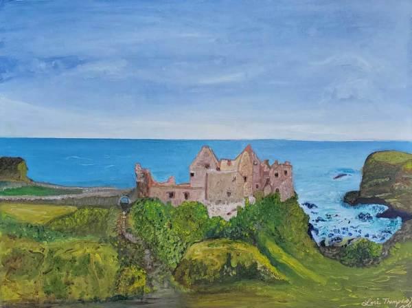 Castle Duschel Ireland by Lori Thompson