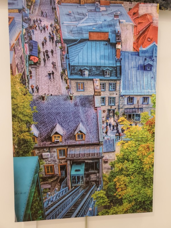 Fall in Quebec by Patricia Dennis