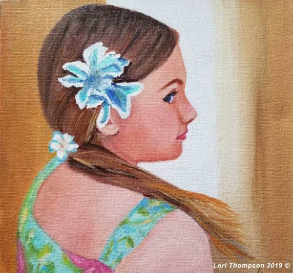 Hawaiian Girl by Lori Thompson