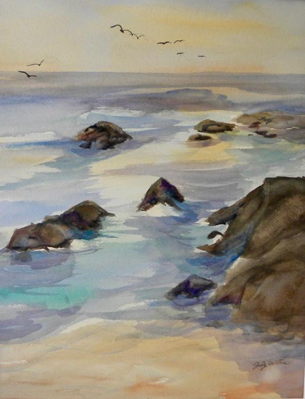 Pt. Lobos Cypress  Cove by Judy Willis