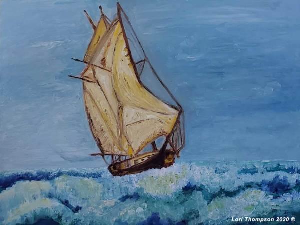 Majestic Seas by Lori Thompson