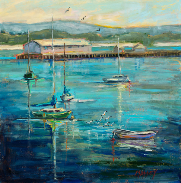 Monterey Blues by Marie Massey